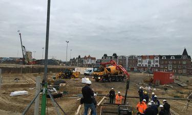 Start bouw Koningsdaal te Nijmegen 1